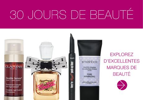Découvrez nos offres sensationnelles sur de sublimes produits de beauté!