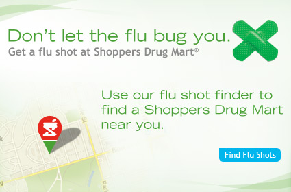 <div class='Title'>Flu Shot Finder</div><div class='SubTitle'>Use our flu shot finder to find a Shoppers Drug...</div>
