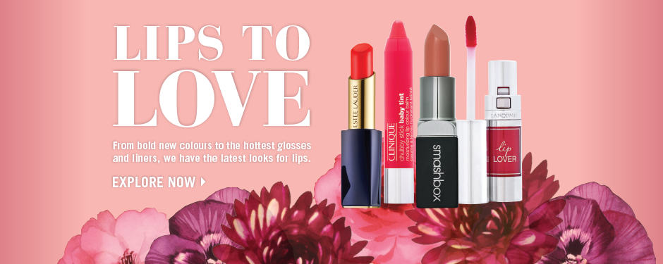 Luxurious lips & scents to love