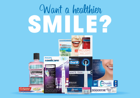 Clean, brighten and care for your smile and get Shoppers Optimum Bonus Points.