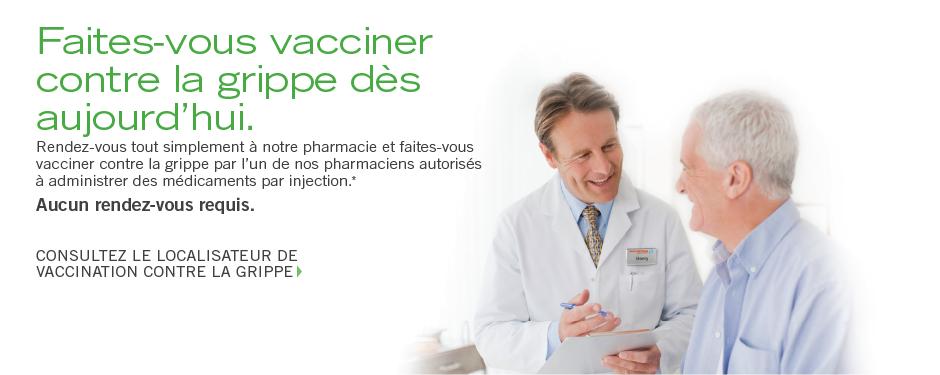 Faites-vous vacciner dès aujourd'hui.