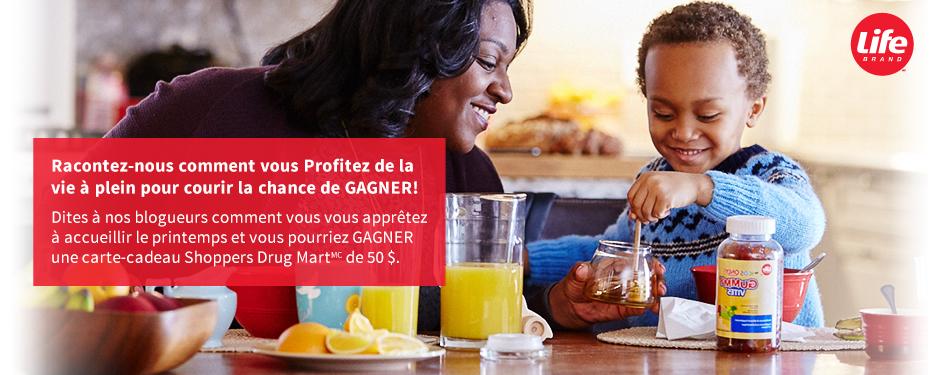 Partagez vos trucs pour GAGNER une carte-cadeau Shoppers Drug Mart d'une valeur de 50 $!