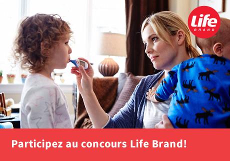 Participez au concours Life Brand!