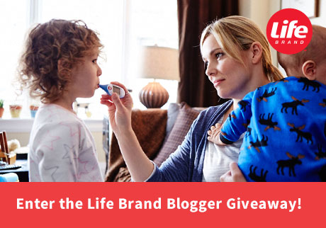 Enter the Life Brand Blogger Giveaway!