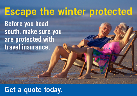 Escape the winter protected