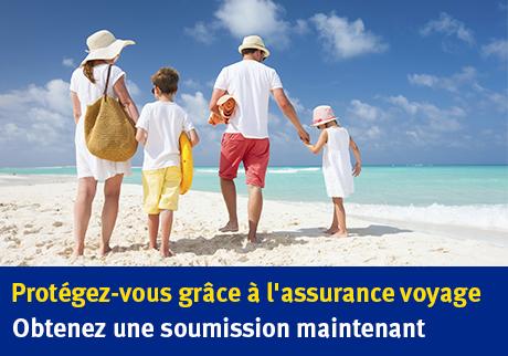 Vous avez l'intention de voyager en famille?