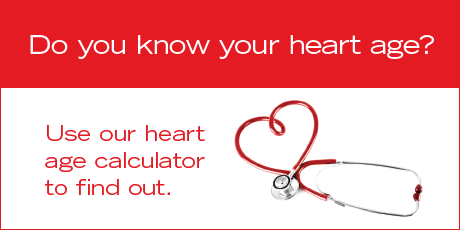 Heart age calculator