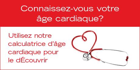 Calculatrice d'âge cardiaque