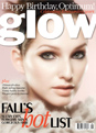 Shoppers Glow Beauty magazine cover