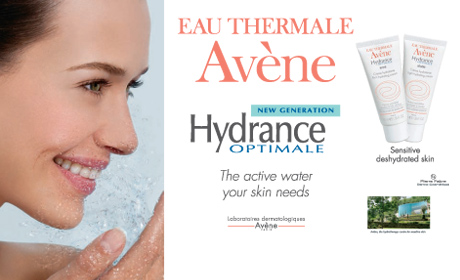 The active water your skin needs
