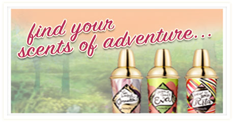 find your scents of adventure...
