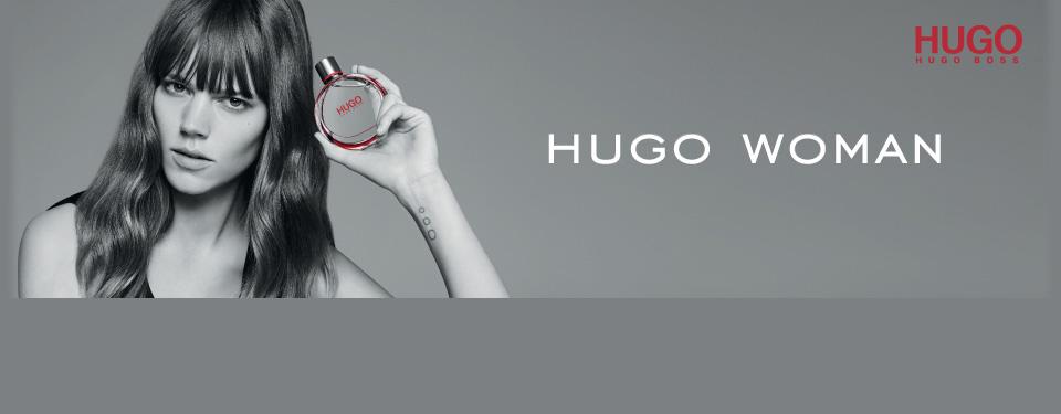 Découvrez HUGO Woman, le nouveau parfum pour femme