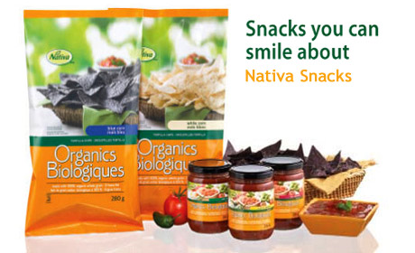Snacks you can smile about