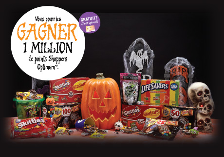 Passez une délicieuse Halloween!