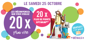 20X plus de points