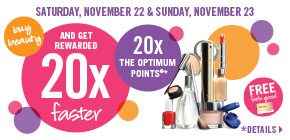 Get 20x the Points