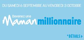 Vous pourriez GAGNER 1 des 5 prix de 1 MILLION de points Shoppers Optimum à l'achat de 3 produits pour bébés participants!