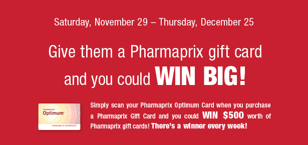 Win $500 in gift cards!
