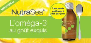 Essayez une cuillerée de délicieux oméga-3. Une seule cuillerée à thé par jour!