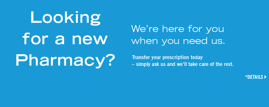 Looking for a new Pharmacy?