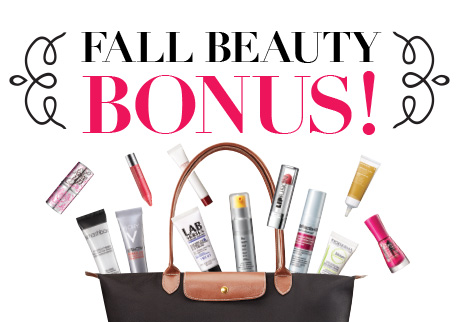 Buy beauty now for a gorgeous bonus