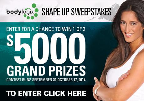 Enter for a chance to win 1 of 2 $5000 Grand Prizes