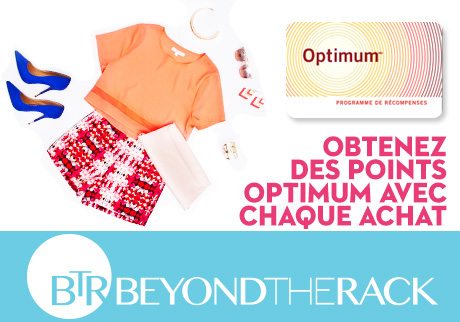 Magasinez sur le site Beyond the Rack!