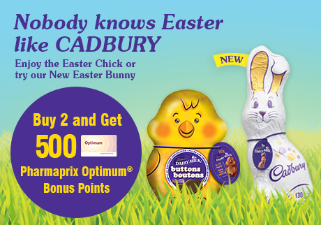 CADBURY makes your Easter delicious!