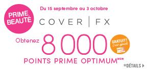 Prime beauté - Cover FX