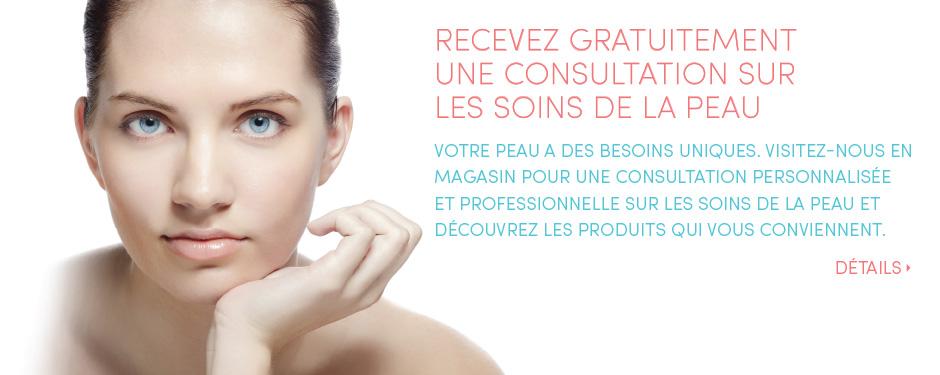 Recevez gratuitement une consultation sur les soins de la peau