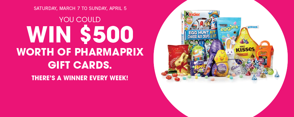 Hunt for Easter treats and win!