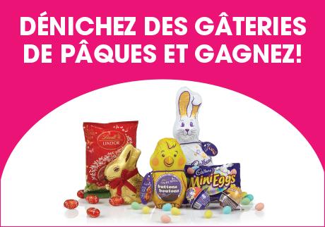 Dénichez des gâteries de Pâques!