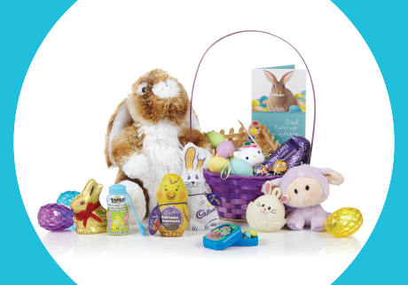 Fill your Easter basket and win!