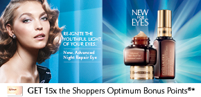 Get 15x the Shoppers Optimum Points®