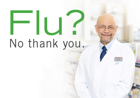 Check flu shot availability near you