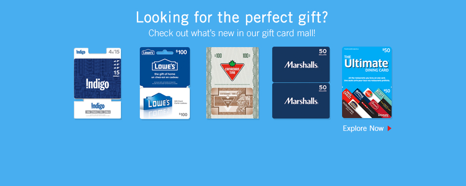 All the best gift cards, all in one place.