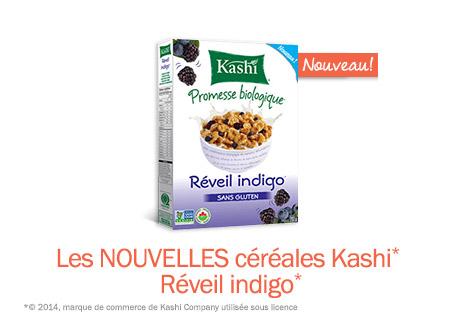 Nouvelles céréales biologiques sans gluten Kashi*