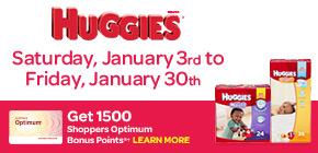 Get 1500 Shoppers Optimum Bonus Points®