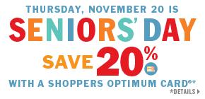 Seniors Day Nov 20 2014