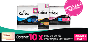 Obtenez plus de points Pharmaprix Optimum