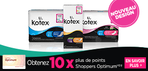 Obtenez plus de points Shoppers Optimum