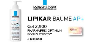 Get 2,500 Pharmaprix Optimum Bonus Points