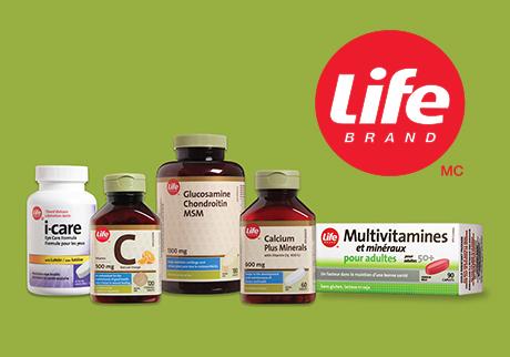 Vitamines Life Brand
