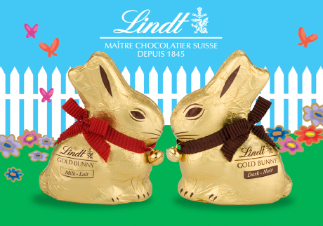 Ring in Easter with the Lindt Gold Bunny