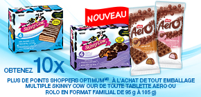 Obtenez 10 x plus de points Shoppers OptimumMD