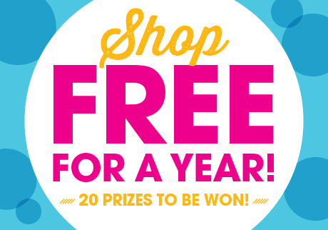 Shop free for a year!