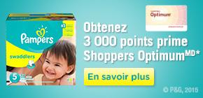 Obtenez 3 000 points prime Shoppers OptimumMD