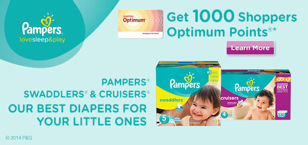 1000 Shoppers Optimum Bonus Points