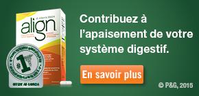 Seul Align® contient la bactérie BifantisTM, un probiotique breveté.