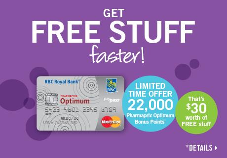 Limited time offer – Get 22,000 Pharmaprix Optimum Bonus Points